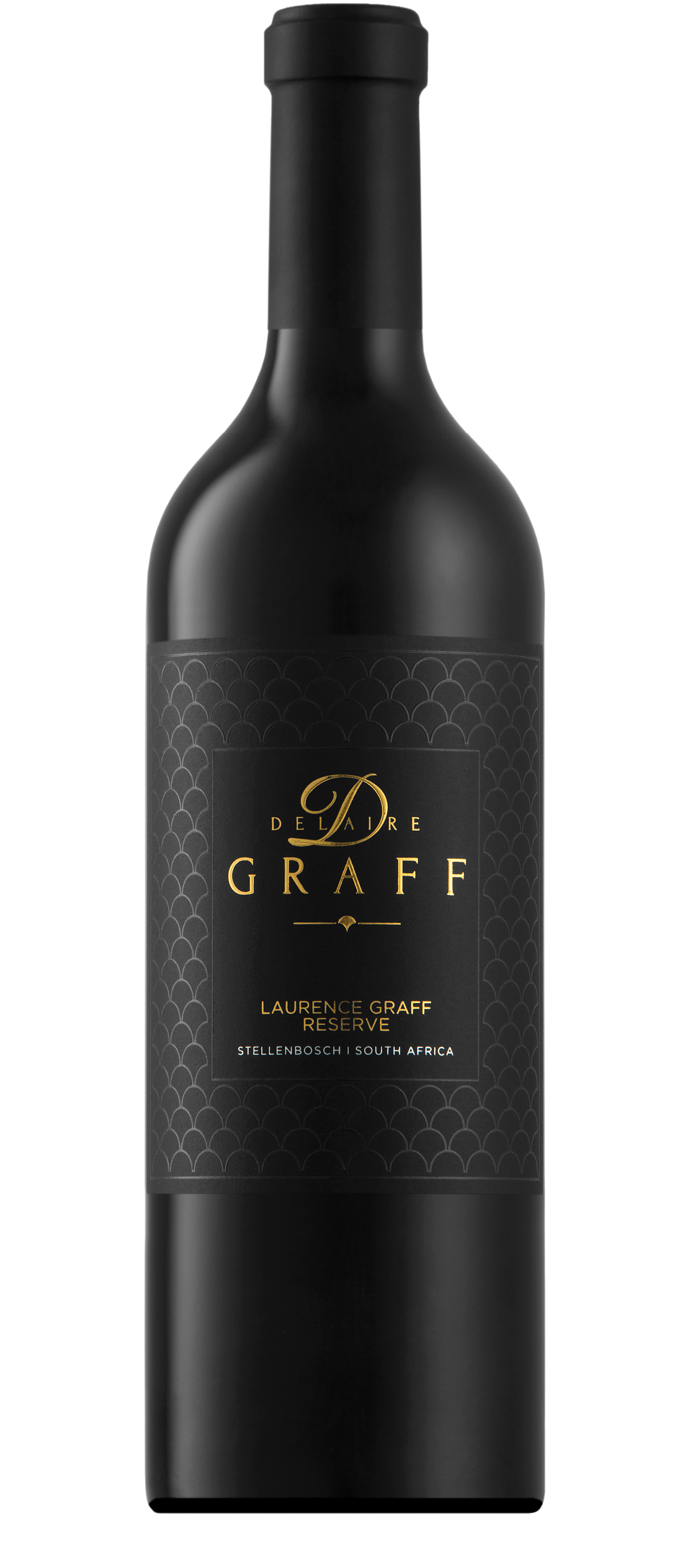 A bottle of Laurence Graff Reserve
