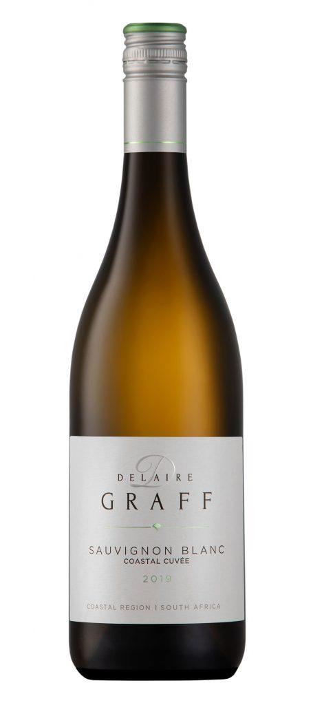 A bottle of Delaire graff Sauvingon Blanc 2019