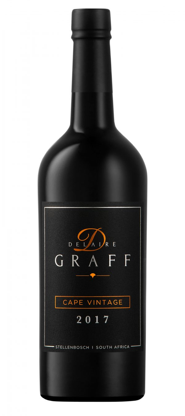 A bottle of Delaire Graff Cape Vintage 2017