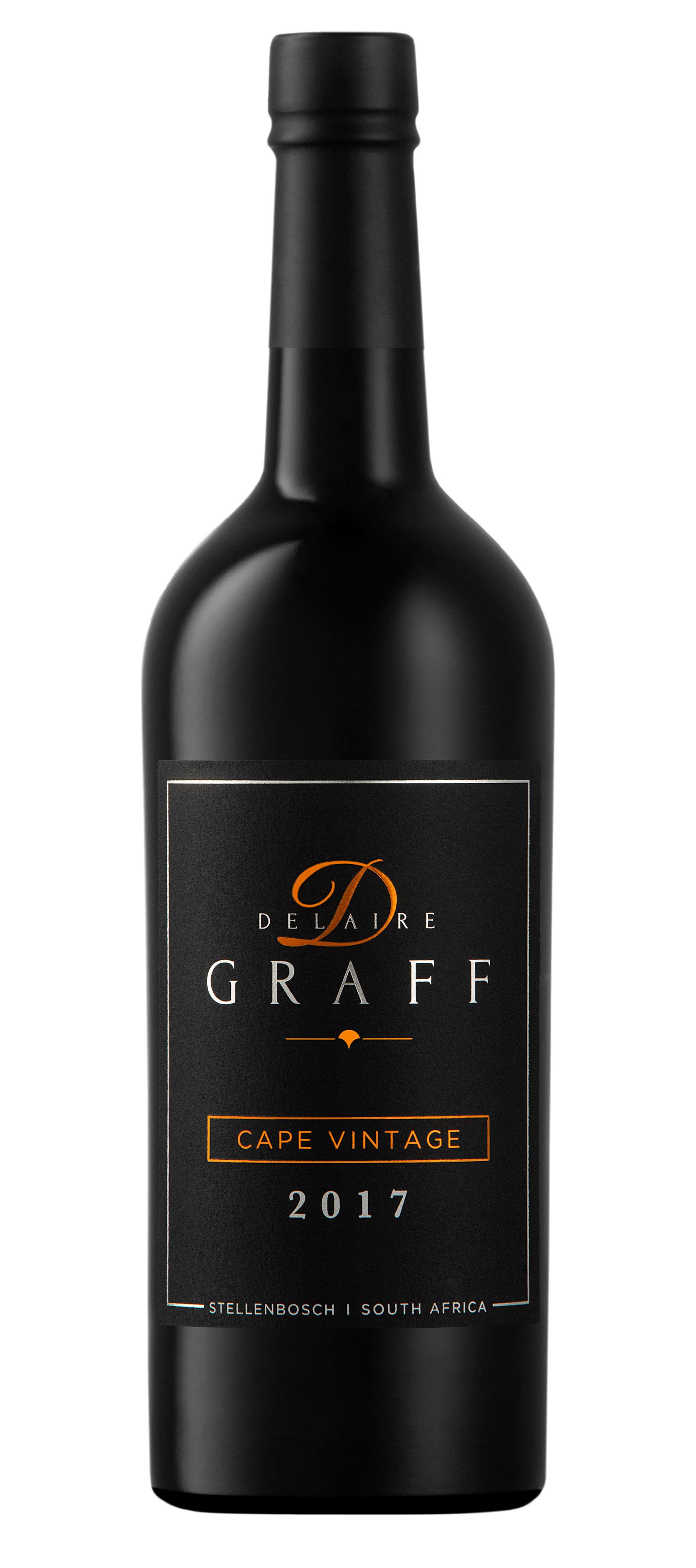 A bottle of Delaire Graff Cape Vintage 2017