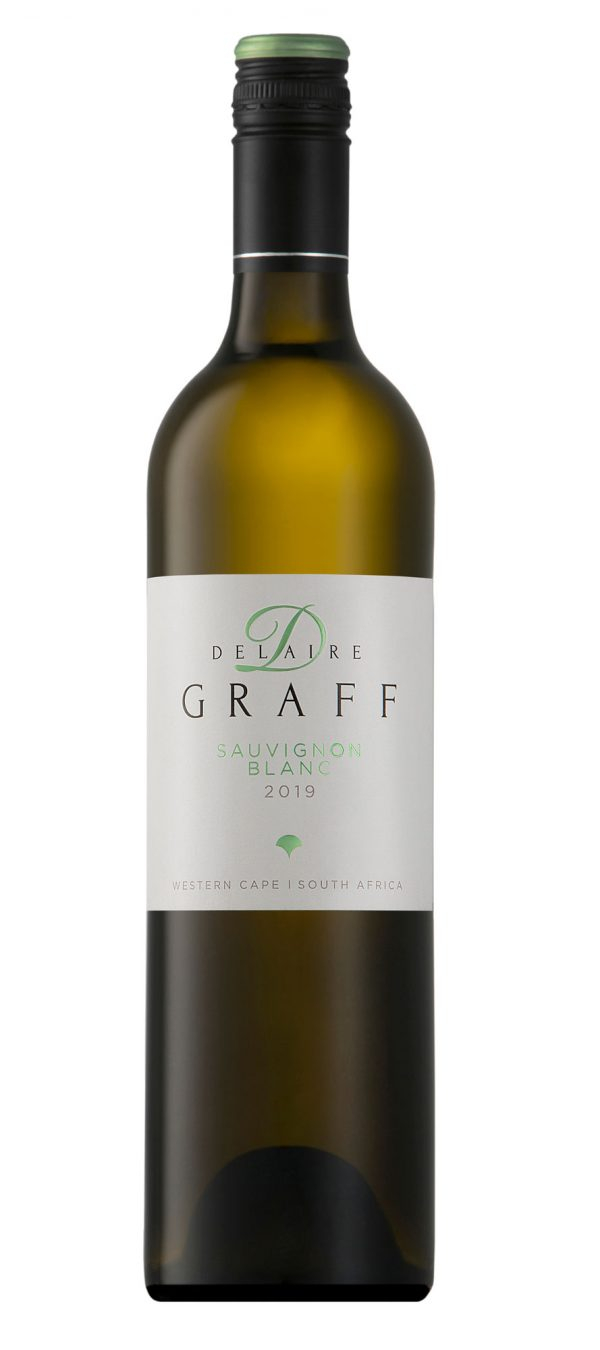 A bottle of Delaire Graff Sauvignon Blanc 2019