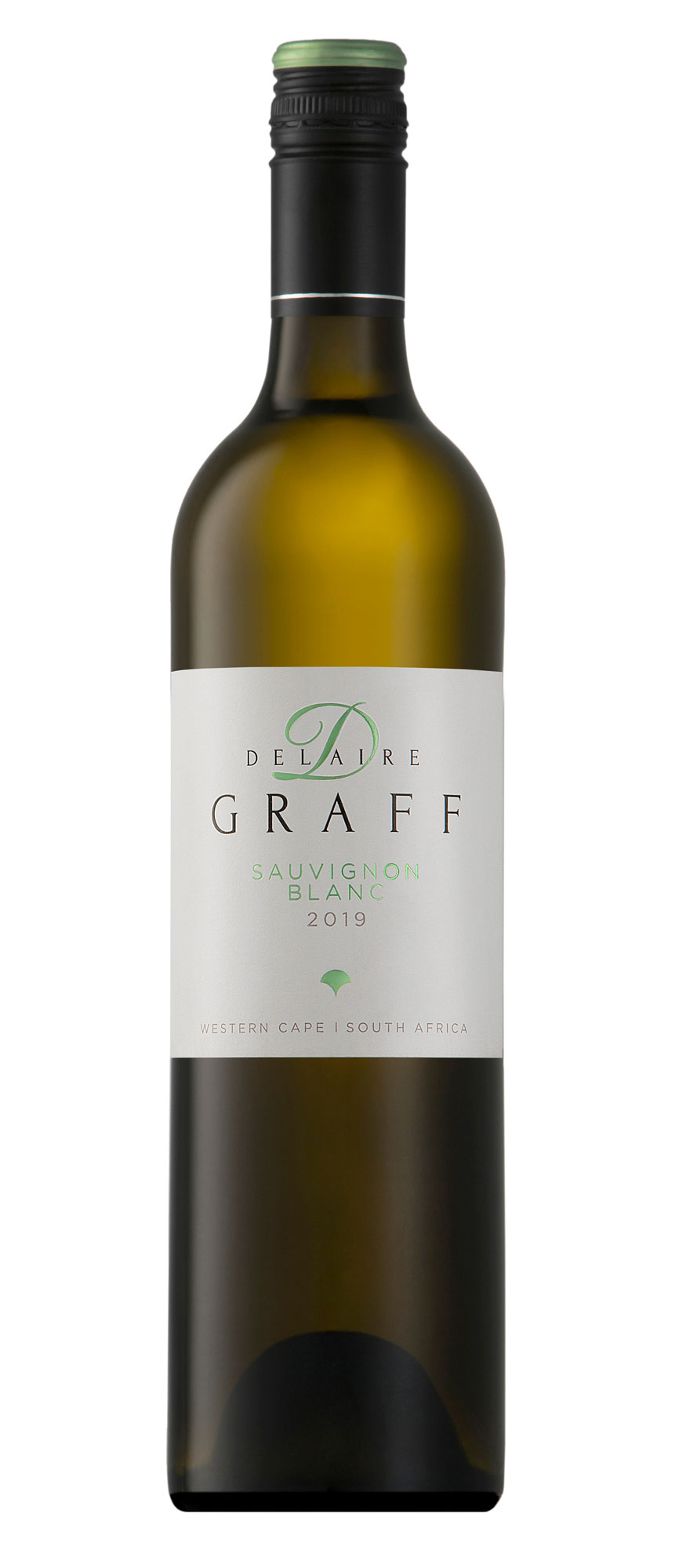 A bottle of Delaire Graff Sauvignon Blanc 2019