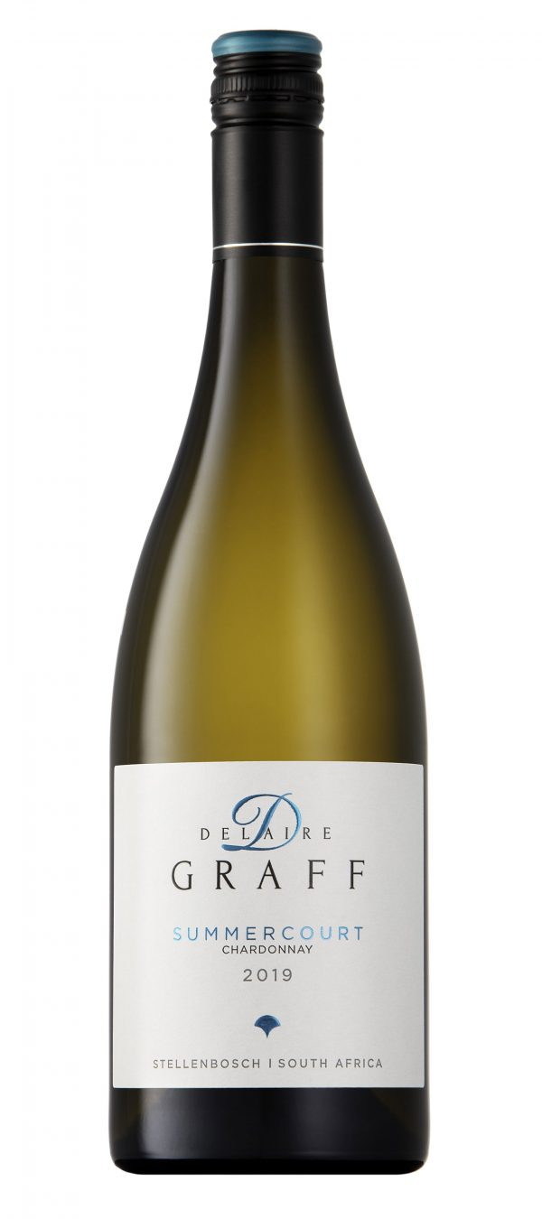 A bottle of Delaire Graff Summercourt Chardonnay 2019