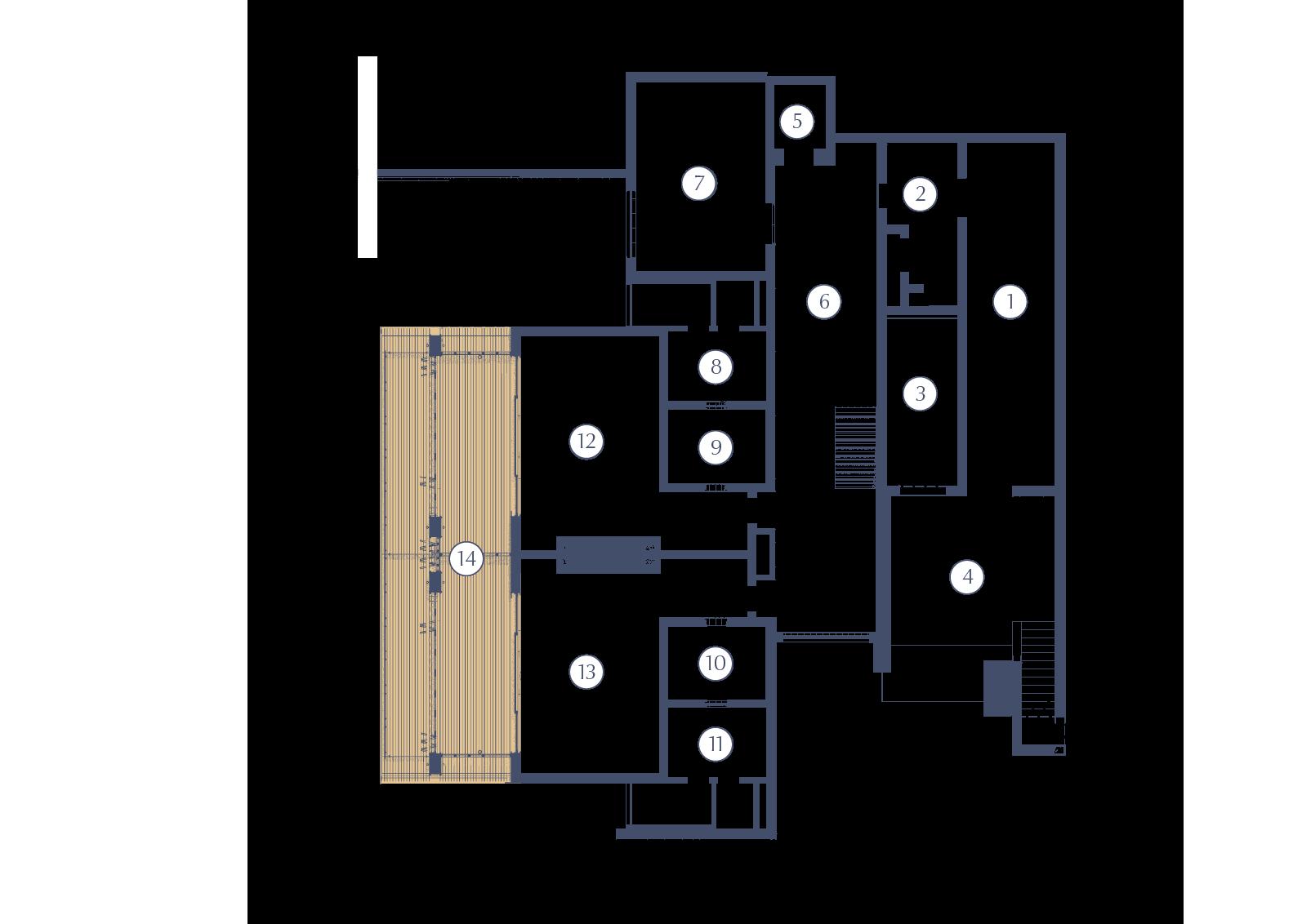 Deliare Graff Estate Owners Villa Lower Floor