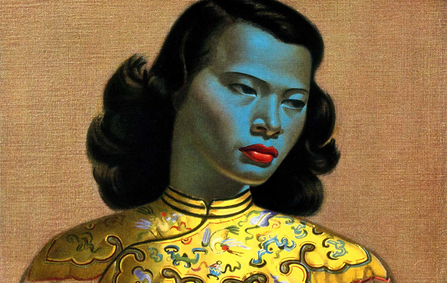 Painting of a Chinese Girl by Vladimir Tretchikoff (1952)