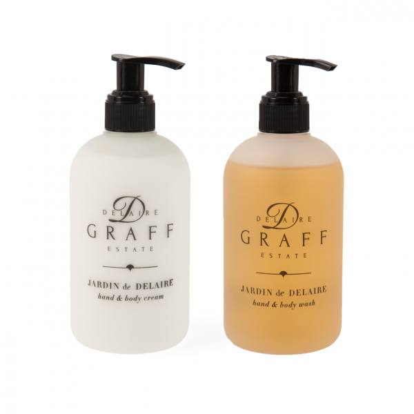 Jardin de Delaire hand and body wash gift set