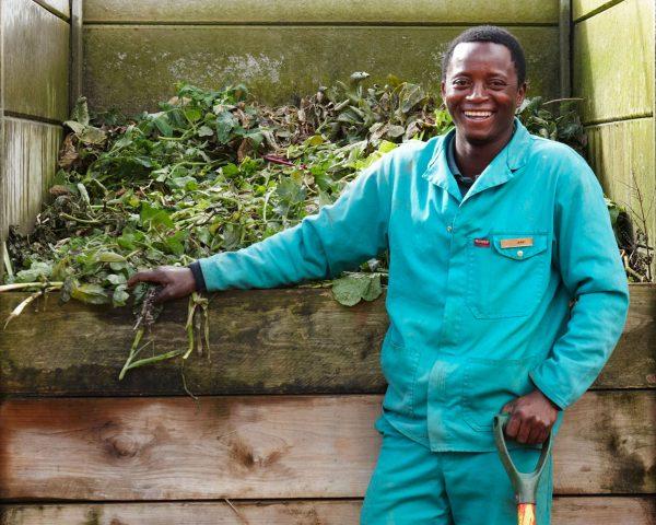 Jerry the Delaire Graff Estate gardener