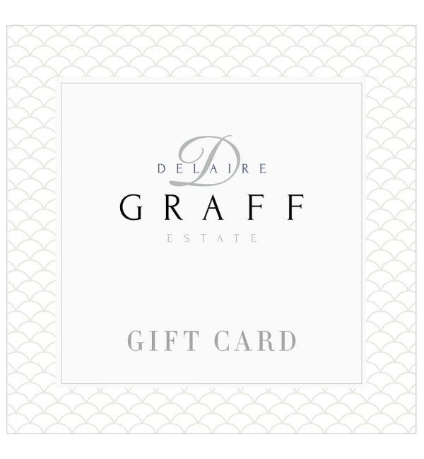 A Delaire Graff Estate gift card
