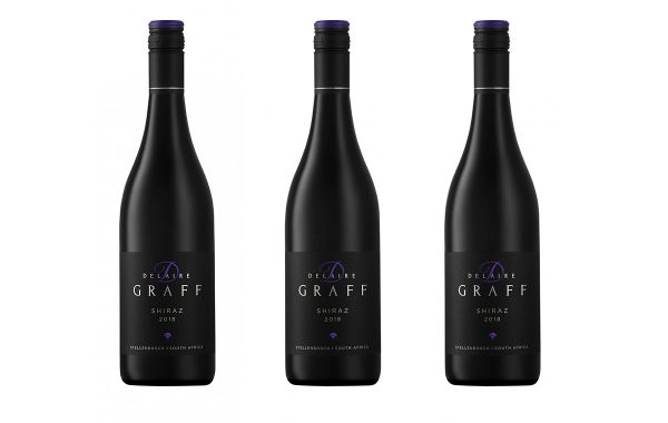Three bottles of Delaire Graff Estate Shiraz 2018