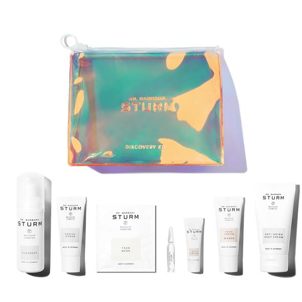 Dr. Barbara Sturm Discovery Kit bag and product