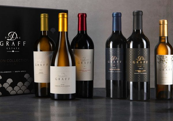 6 bottles of award-winning Delaire Graff Estate wine