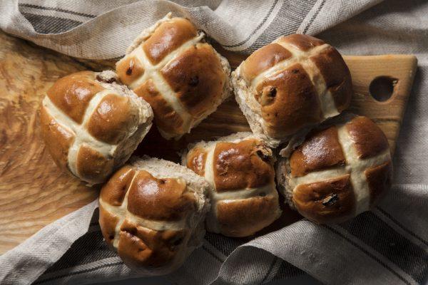 Delaire Graff Estate Easter Hot Cross Buns recipe